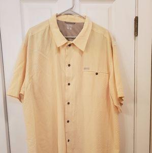 Columbia mens button down shirt XXL